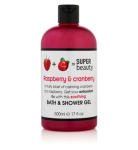 Super Beauty Raspberry and cranberry