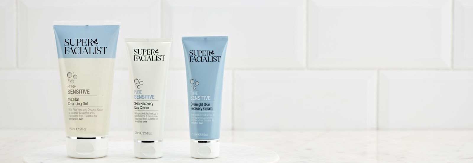 Super Facialist Pure range